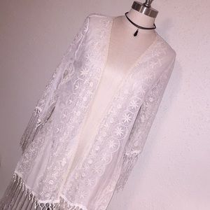 Other - Women's Lace Cover Top size small